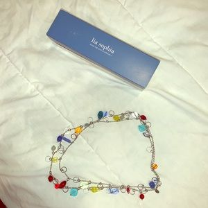 NWOT LIA SOPHIA BEADED NECKLACE